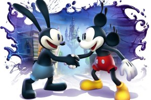 Mickey and Oswald ShakingHands