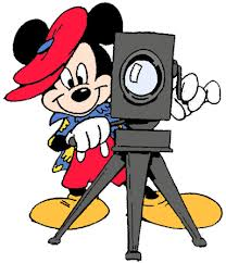 Mickey with Movie Camera